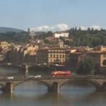 Firenze – Vista su Ponte Vecchio