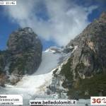Cortina – Vista delle tofane dal Rifugio Duca d'Aosta