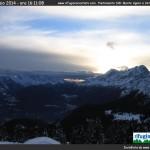 Rifugio Carestiato – Vista sul Monte Agner e sulle Vette Feltrine