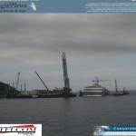 Isola del Giglio – Lavori Rimozione Costa Concordia – Parbuckling