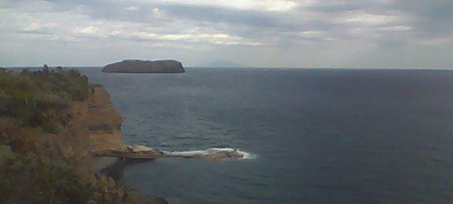 Ventotene - Vista sul mare