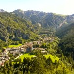 Alta Val Brembana – Vista del paese Piazzatorre