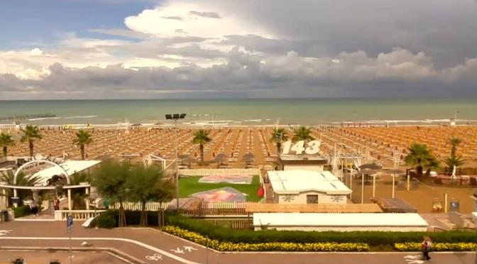 Webcam rimini vista sulla spiaggia meteo webcam - Web cam rimini bagno 39 ...