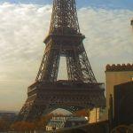 Parigi – Vista sulla Torre Eiffel