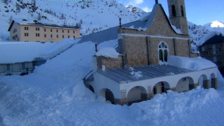 Sant'Anna di Vinadio - Vista sul Santuario
