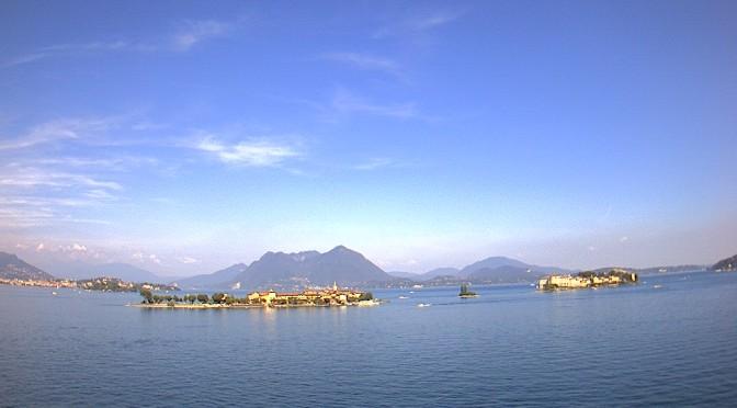 Le Isole Borromee viste da Baveno sul Lago Maggiore