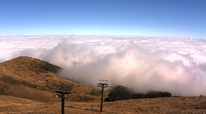 Monte Cimone – Vista su Pian Cavallaro