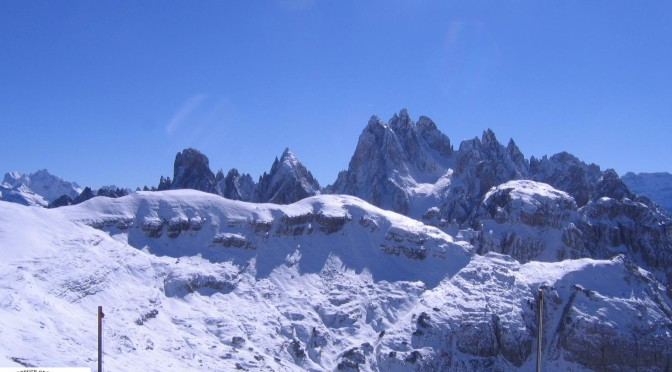 Rifugio Auronzo sulla Forcella Longères