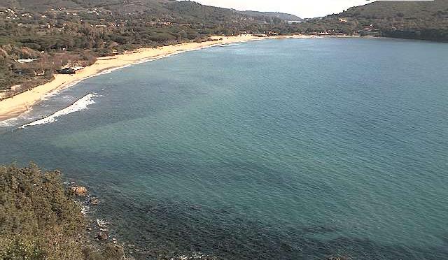 Isola d'Elba - Spiaggia di Laconella nel Golfo di Lacona
