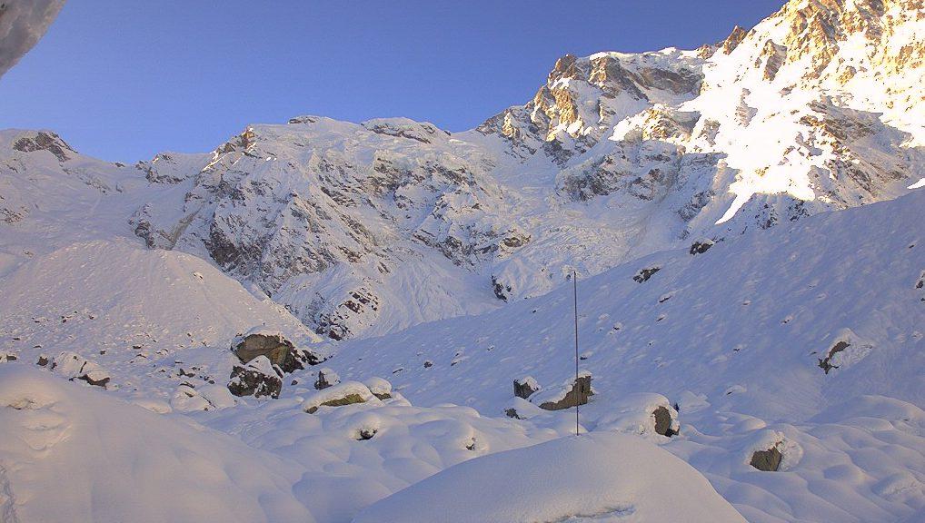 Rifugio Zamboni Zappa - Vista sul Monte Rosa