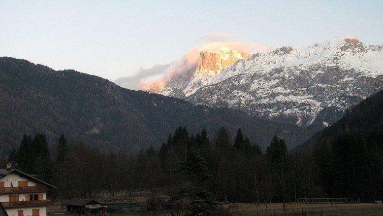 Monte Civetta – Vista da Canale d'Agordo