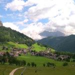 Colfosco – Vista sul Monte Sassongher