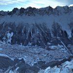 Chamonix e Monte Bianco – Vista da Le Brévent