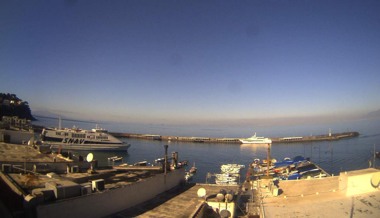Capri - Vista sul porto
