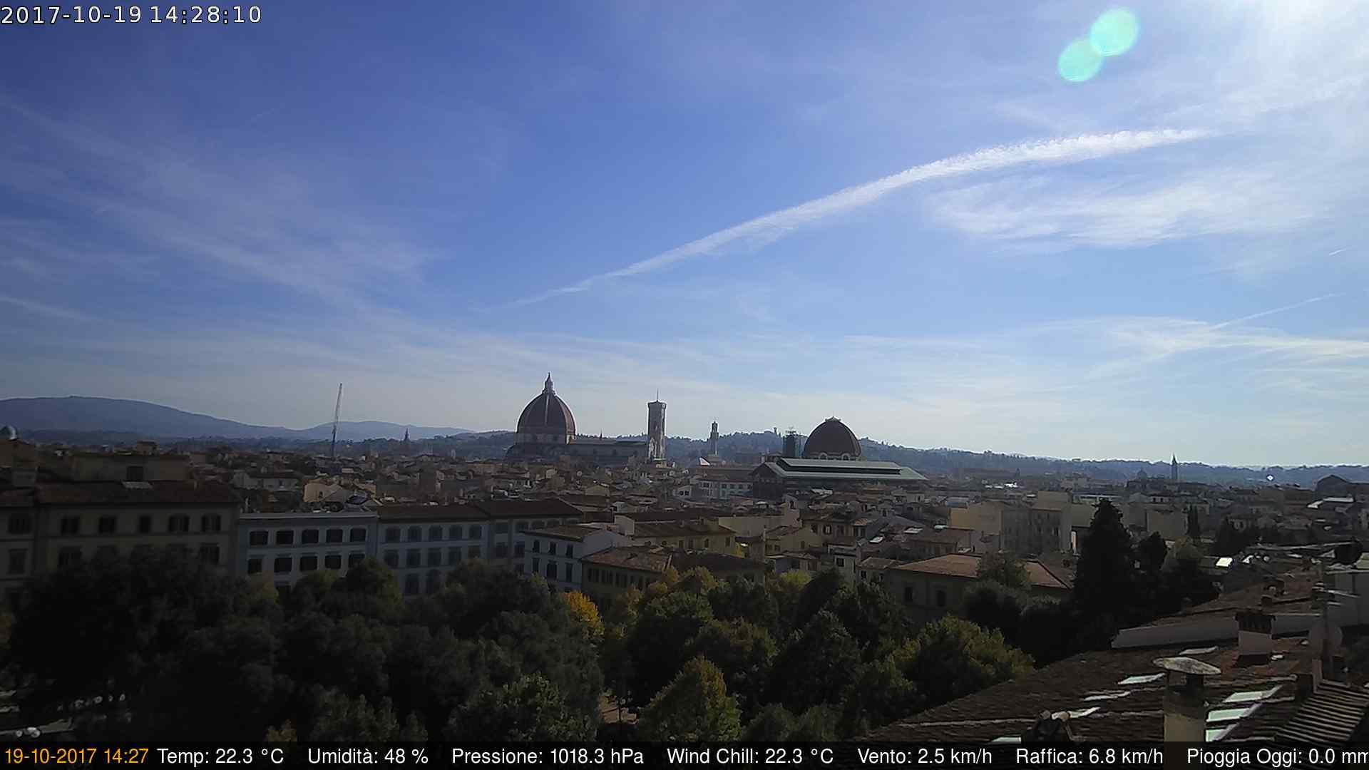 Firenze - Vista panoramica sulla città