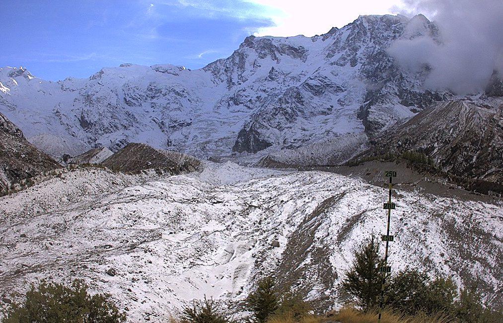 Macugnaga - Vista sul Ghiacciaio Belvedere sul Monte Rosa