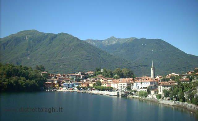 Lago di Mergozzo - Vista sul paese