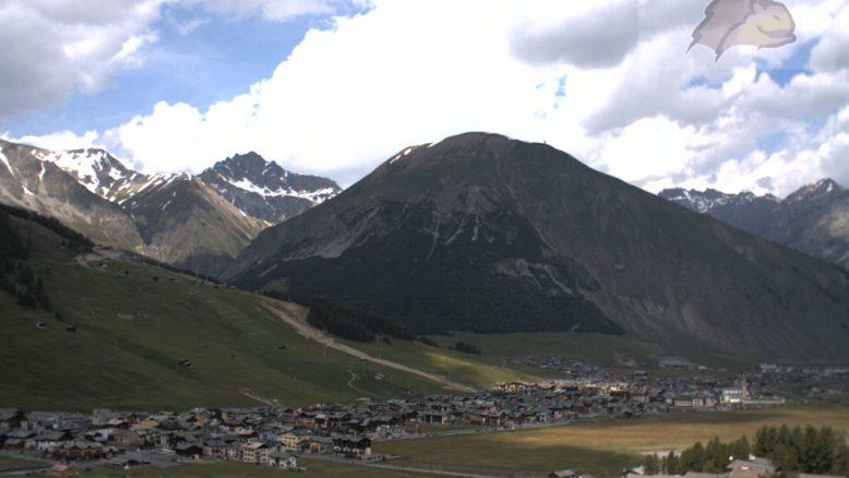 Livigno - Vista sul paese