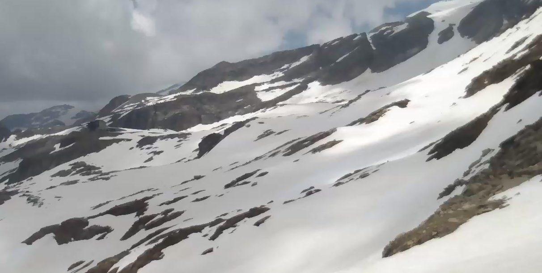 Monte Rosa - Panorama da Punta Indren