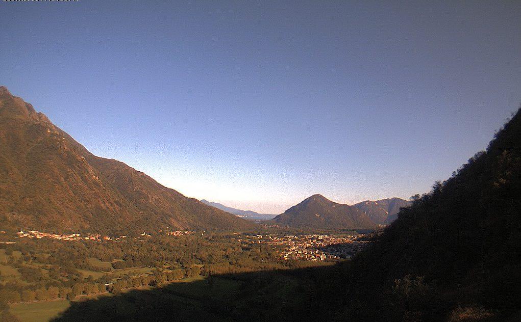 Ornavasso - Vista sulla Val d'Ossola