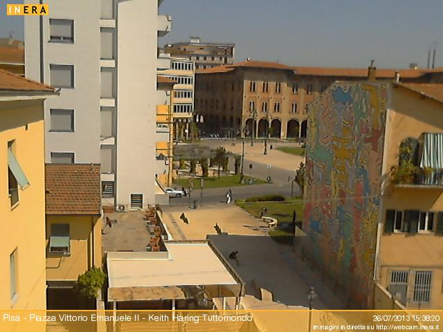 Pisa - Tuttomondo di Keith Haring