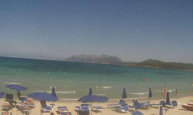 Pittulongu - Vista sulla spiaggia