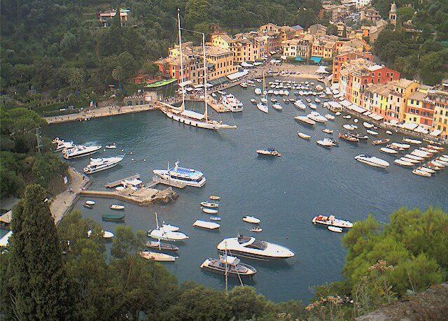 Portofino - Vista sul porticciolo
