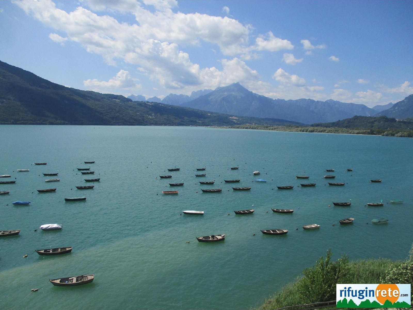 Lago Santa Croce